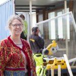 Gudenåen som dynamo involverer sig i byggeriet af CO2 positive pop up containere